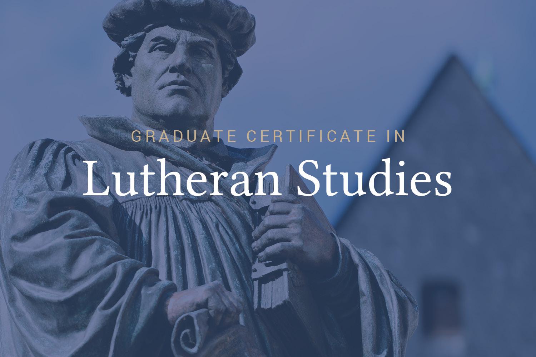 Lutheran Studies