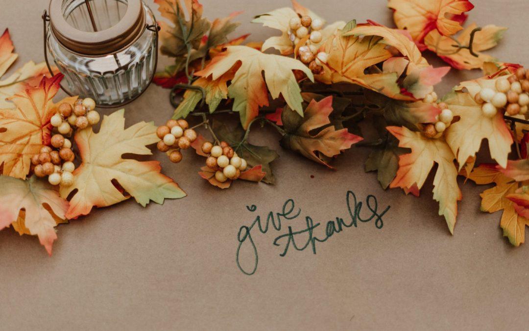 Attentiveness: Thanksgiving