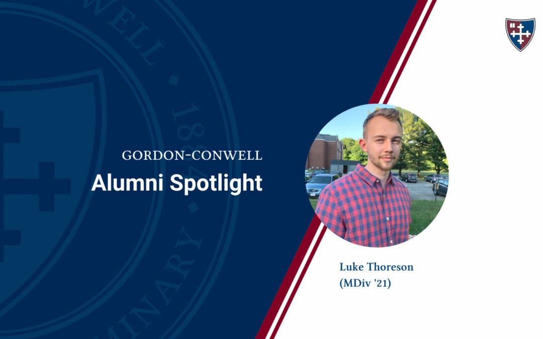 Alumnus Luke Thoreson Receives Preaching Today Award